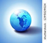 canada  north america  siberia... | Shutterstock .eps vector #1295029024