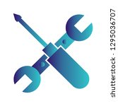 vector tools repair icon  | Shutterstock .eps vector #1295036707