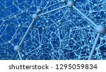 very complex structure formed...   Shutterstock . vector #1295059834