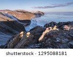 view of the tazheran coast of... | Shutterstock . vector #1295088181