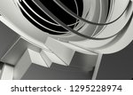abstract architecture... | Shutterstock . vector #1295228974