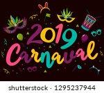 popular event in brazil.... | Shutterstock .eps vector #1295237944