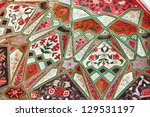 medieval pattern in a ancient... | Shutterstock . vector #129531197