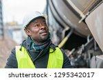 african american railroad... | Shutterstock . vector #1295342017