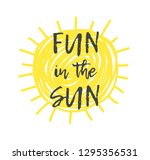 hand drawn illustration sun.... | Shutterstock .eps vector #1295356531