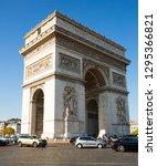 paris  france   october 10 ... | Shutterstock . vector #1295366821