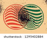 abstract geometric pattern...   Shutterstock .eps vector #1295402884