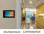 smart home with screen | Shutterstock . vector #1295446924
