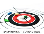 target identification and lead... | Shutterstock . vector #1295494501