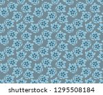 seamless decorative pattern... | Shutterstock .eps vector #1295508184