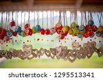 selective focus ceramics... | Shutterstock . vector #1295513341