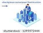 isometric bright template...   Shutterstock .eps vector #1295572444