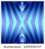 abstract geometric illustration ... | Shutterstock . vector #1295596747