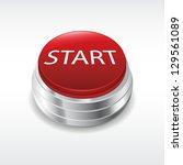 start engine button | Shutterstock .eps vector #129561089