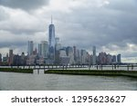 jersey city new jersey usa   13 ... | Shutterstock . vector #1295623627