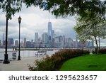 jersey city new jersey usa   13 ... | Shutterstock . vector #1295623657