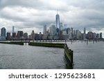 jersey city new jersey usa   13 ... | Shutterstock . vector #1295623681