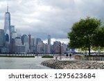 jersey city new jersey usa   13 ... | Shutterstock . vector #1295623684