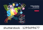 burst and spray hot sale on... | Shutterstock . vector #1295699677
