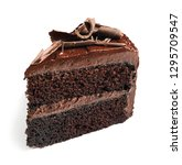 piece of tasty homemade... | Shutterstock . vector #1295709547