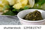 sweet crab chili paste or nam... | Shutterstock . vector #1295815747