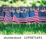 american memorial day at the... | Shutterstock . vector #1295871691