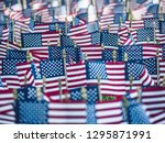independence day in america in... | Shutterstock . vector #1295871991
