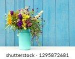 Bright Colorful Bouquet Wild...