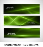 abstract shiny green colorful... | Shutterstock .eps vector #129588395