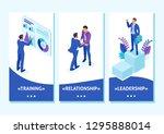 isometric template app...   Shutterstock .eps vector #1295888014