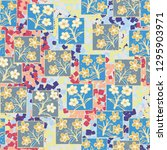 seamless pattern made up of...   Shutterstock .eps vector #1295903971