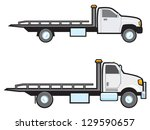 two different types of common... | Shutterstock .eps vector #129590657