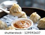 shanghai   dumpling | Shutterstock . vector #129592637