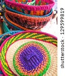 Hats In A Traditional Andean...