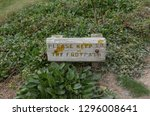 """please keep to the footpath""... 