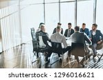 formal business life. working... | Shutterstock . vector #1296016621