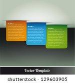 template  vector eps10...   Shutterstock .eps vector #129603905