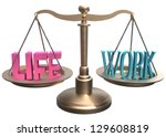 shiny scales balance life and... | Shutterstock . vector #129608819