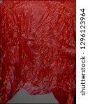 crackle plastic texture. close... | Shutterstock . vector #1296123964