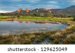 landscape of las medulas with...   Shutterstock . vector #129625049