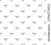 wing pattern seamless repeat... | Shutterstock . vector #1296273421