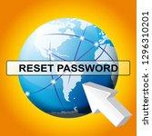 reset password globe to redo...   Shutterstock . vector #1296310201