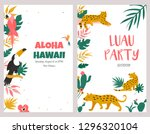 Trendy Summer Tropical Banners...