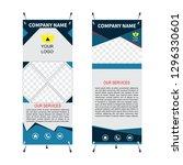 x banner rectangle size  ... | Shutterstock .eps vector #1296330601