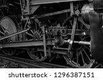 Steam Locomotive  Rod Drive Of...
