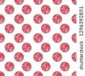 salami sausage slices...   Shutterstock . vector #1296392851