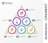 infographic design template....   Shutterstock .eps vector #1296488437