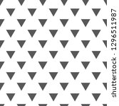 abstract triangle pattern.... | Shutterstock .eps vector #1296511987