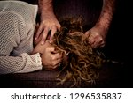 stop sexual abuse concept  stop ... | Shutterstock . vector #1296535837