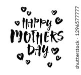 happy mother's day card.... | Shutterstock .eps vector #1296577777